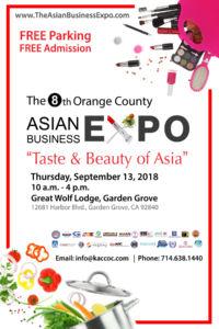 2018 OC Asian Business Expo Flyer